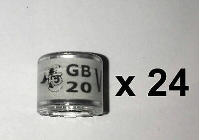 RPRA racing pigeons rings GB 2020 - packet of 24 - UK original + transfer form