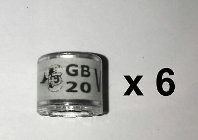 RPRA racing pigeons rings GB 2020 - packet of 6 - UK original + transfer form