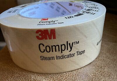 3m Comply Steam Indicator Tape 1.89 X 60 Yard Steam Autoclave Tape 1322-48mm