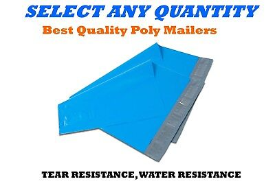 12x15.5 Blue Poly Mailers Shipping Envelopes Self Sealing Mailing Bags 12 X 15