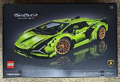 LEGO Technic Lamborghini Sián FKP 37 Exclusive Sport Car Display toy set 42115