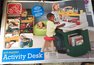 Step 2 - Art Master activity desk