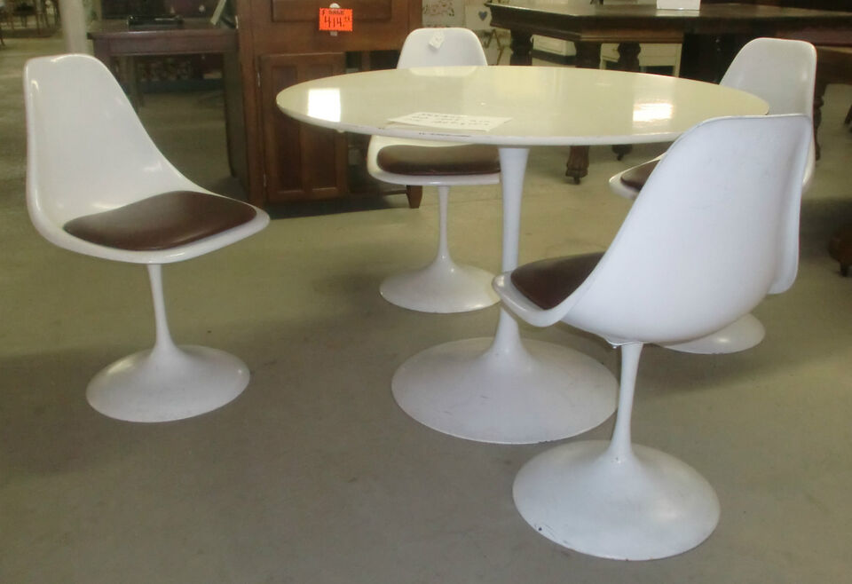 TULIP TABLE AND CHAIRS collection on eBay