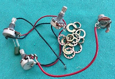 Vtg Yamaha RBX Bass Guitar Original Wiring Harness  for sale  Shipping to India