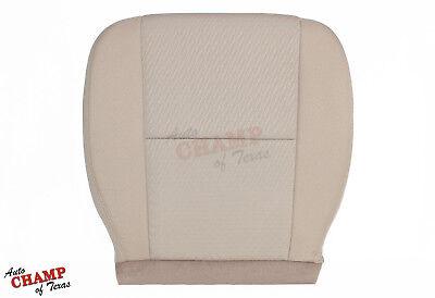 2011 Chevy Silverado 1500 2500 3500 LS -Driver Side Bottom Cloth Seat Cover Tan