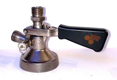 Vintage Micro Matic Sk 184.04 Beer Keg Metal Tap-handle Coupler Lever Handle