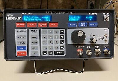 Pager Plus Tester Ramsey Ppts-1 Communications Test Set Ham
