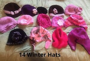 Baby Girl Hat Lot