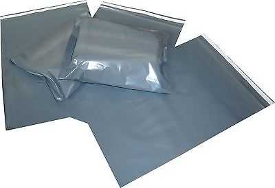 100 Strong Grey Mailing Bags 10X14