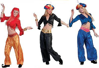 Harem Kostüme (Bauchtänzerin Haremsdame 1001 Nacht Damen Mädchen Kostüm Karneval Fasching)