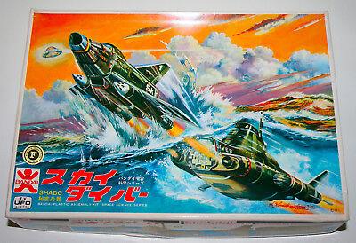 UFO SHADO SKYDIVER MODEL KIT MADE BY BANDAI NIB from Japan Sci-Fi TV show Rare for sale  Pacoima
