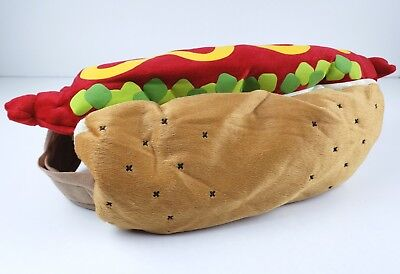 Hot Dog Halloween Costume for Dogs Pets by Target Dress Up Outfit MEDIUM](Hot Dog Dog Costume Target)