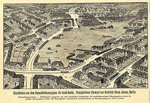 Hans Dominik Der Wettbewerb Groß-Berlin Historischer Report von 1910