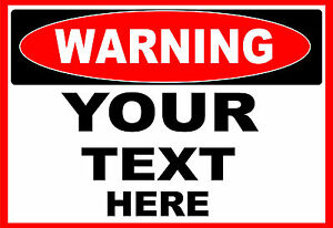 WARNING-YOUR-TEXT-HERE-OSHA-Decal-Free-Shipping