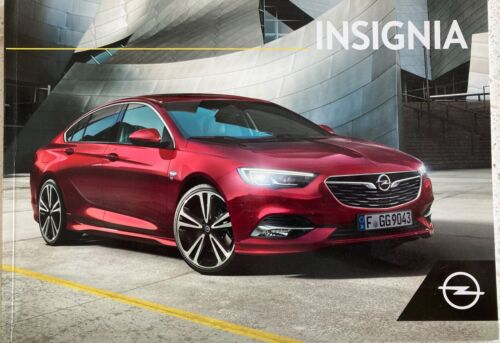 2020 Opel Insignia/Buick Regal sales brochure (Dutch)