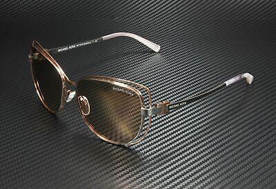 MICHAEL KORS MK1013 1121R1 Silver Rose Gold Pink 58 mm Women's Sunglasses