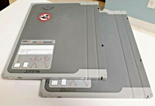 AGFA Healthcare CR HD5.0 Cassette 24 x 30cm - Lot of 2 MAKE OFFER!