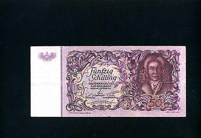 Austria 50 schillings 1951 - VF-