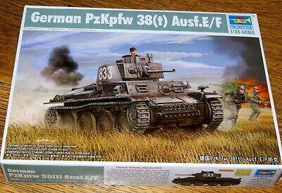Trumpeter 01577 : Dt. Panzerkampfwagen 38(t) Ausf. E/F Kit 1:35