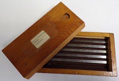 Tungsten Carbide Blade Anvil Blank 7 X 14 X 532 Box Of 5