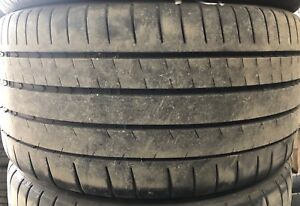 Michelin pilot sport  2 tires 235/40/18 and 2 tires 265-40-18