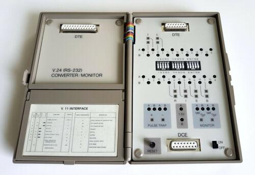 GN Nettest Datacheck 3 – X.21/V.11 Interface Monitor & Breakout Box w/RS232 Conv