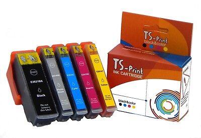 14 Tintenpatronen (TS-Print Set Drucker Tinten-Patronen komp. Epson  26XL T2631 T2632 XL XP-610)