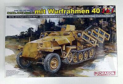 Dragon 6284 Sd.Kfz. 251/2 Ausf. C mit Wurfrahmen 40 1/35 Scale Plastic Model Kit