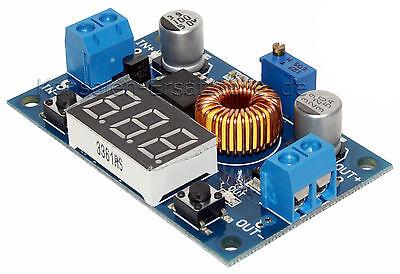 DC-DC Step down Spannungsregler Abwärtswandler Buck 36V / 5A mit LED Voltmeter