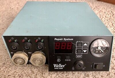 Weller Wrs3000 Repair System Self-contained 3 Station Smt Read Description