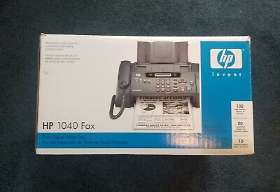 Tested Hp 1040 Inkjet Fax Machine With Built-in Telephonescan Print