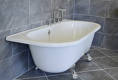 Baltimor Bathroom Suite - Freestanding Bath, Toilet, Basin, Taps