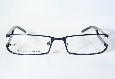 Men's Slim Black EYEZWEAR Smart Unique Semi Rimless Eyeglass Frames (Unique Mens Eyeglass Frames)