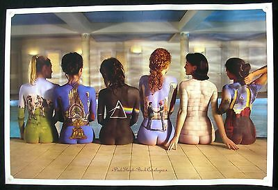 PINK FLOYD Back Catalogue Hipgnosis UK Promo Poster Mint- ORIGINAL!!!