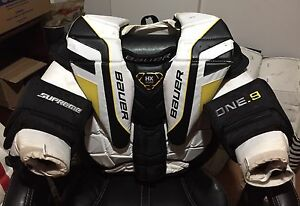 BAUER ONE.9 INT GOALIE CHEST PROTECTOR