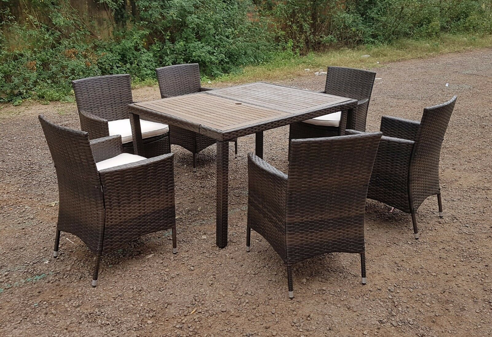 RATTAN WICKER CONSERVATORY OUTDOOR GARDEN FURNITURE PATIO