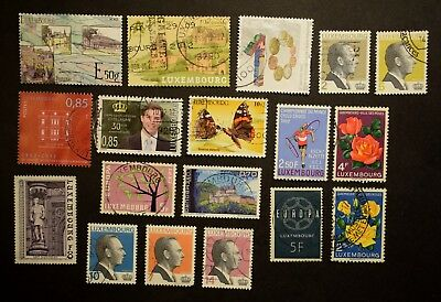 LUXEMBOURG  STAMPS   Stock book page 1    ~~L@@K~~