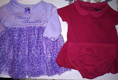 Baby Girl Newborn 0/3 3 Months Clothes Lot of 5 Nautica, Children's Place, esc