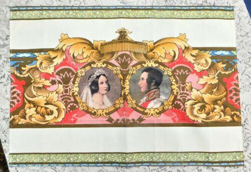 Vintage Queen Victoria Prince Albert Royal Collection Honi Soit Mal y Pense
