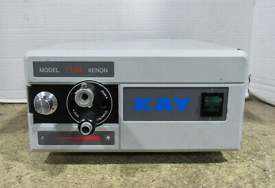 Luxtec Kay 7150 Xenon Light Source W 340 Light Hours Tested And Working