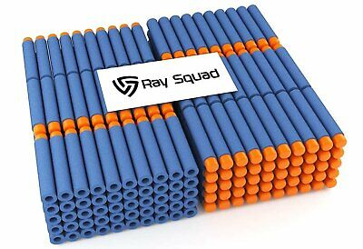 500-Piece Set, Compatible Nerf Dart Foam Toy Darts By Ray Squad, Premium Refi...