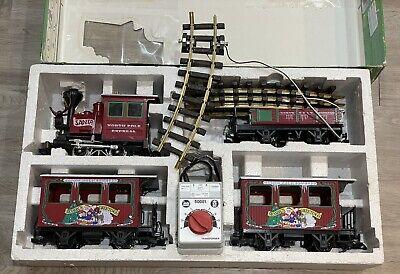 LGB Lehmann Train Set Santa North Pole Express, 50081 Transformer, Christmas