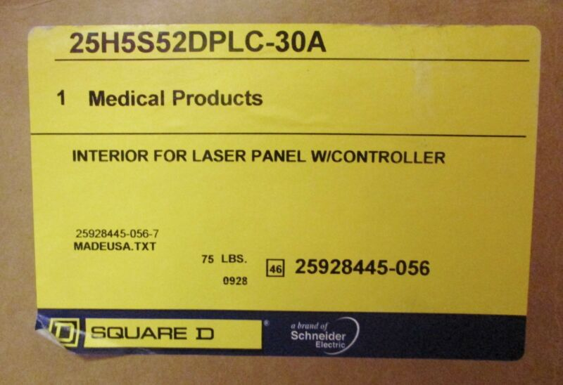 Square D 25h5s52dplc 30a Laser Panel Interior Controller 25928445 056 7 Iso Gard