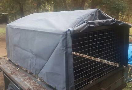 6x4 trailer cage and new canvas cover suit 6x4 trailer $650 ONO