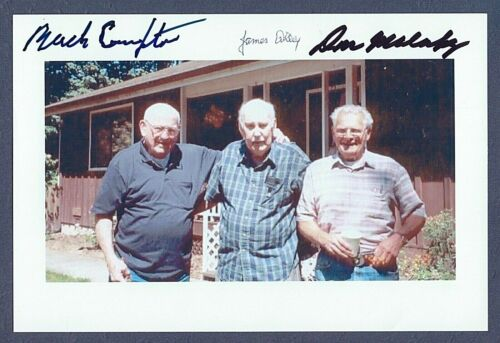 BAND OF BROTHERS SIGNED PHOTO DON MALARKEY JAMES ALLEY PSA/DNA AUTOGRAPH AUTO