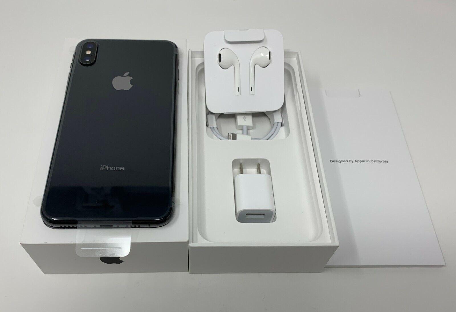 New Apple iPhone XS Max - 64 GB - Space Gray - GSM+CDMA Unlocked