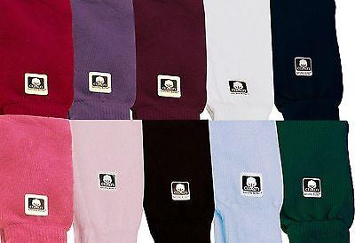 "Dance & Fashion All Cotton Leg Warmers 24"" 11 Colors NEW"