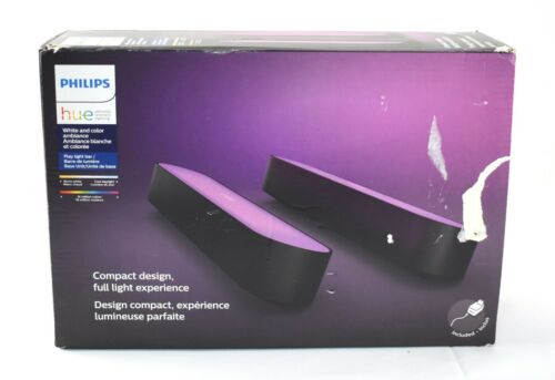 Philips Hue Play White & Color Ambiance Smart LED Bar Light (2-Pack) - 6455sw