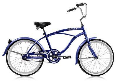 Boys 20 inch Micargi Jetta Beach Cruiser Bike Junior Blue Black Gray Red NEW   - Boys Beach Cruiser