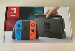 BRAND NEW W/Receipt Neon Red Blue Nintendo Switch Never opened.